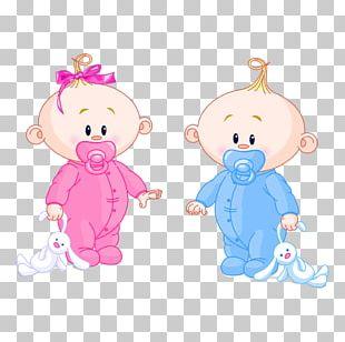 Infant Boy Girl PNG
