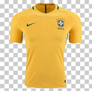 Brazil National Football Team T-shirt 2018 FIFA World Cup Paris Saint-Germain F.C. PNG
