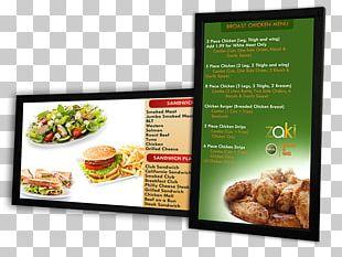 Digital Signs Advertising Signage Restaurant Technology PNG