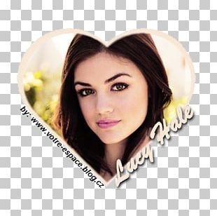 Lucy Hale Pretty Little Liars Eyebrow Hair Coloring Lip PNG