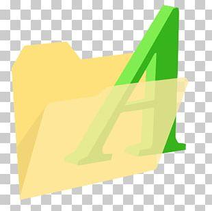 Angle Brand Yellow Font PNG