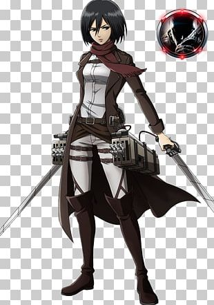 Mikasa Ackerman Eren Yeager A.O.T.: Wings Of Freedom Attack On Titan Manga PNG
