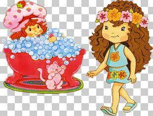 Strawberry Shortcake Charlotte Fruitcake PNG