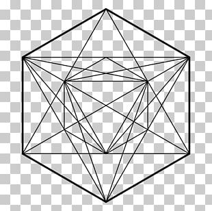Metatron Cube Sacred Geometry Overlapping Circles Grid Symbol PNG
