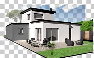 House Architecture Facade Architectural Engineering Kermor Habitat PNG