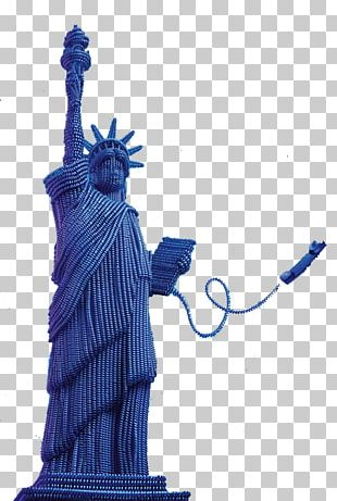 Statue Of Liberty Telephone Line Sculpture PNG