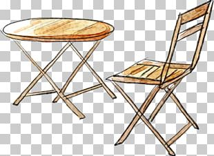 Table Chair Furniture Wood PNG