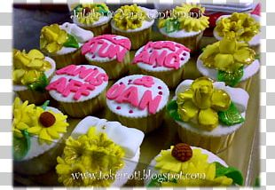 Buttercream Cupcake Petit Four Muffin Royal Icing PNG