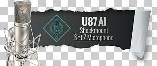 Microphone Neumann U 87 Ai Georg Neumann Brand PNG