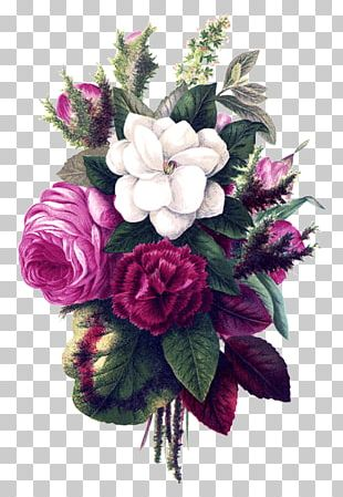 Flower Bouquet Drawing Vintage Clothing PNG