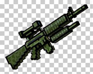 Pixel Gun 3D (Pocket Edition) Firearm Weapon Assault Rifle PNG