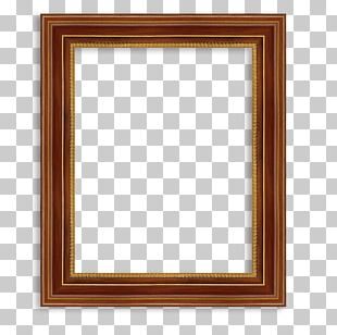 Frame Window Digital Photo Frame Wood PNG