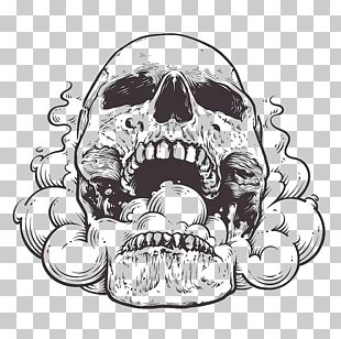 Hand-painted Skulls PNG