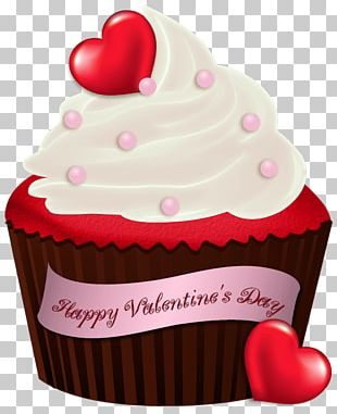 Cupcake Chocolate Brownie Valentine's Day Birthday Cake PNG