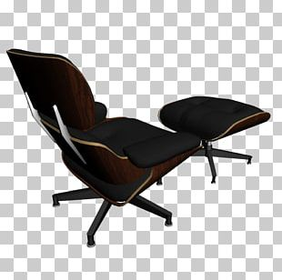 Eames Lounge Chair Table Chaise Longue Vitra PNG