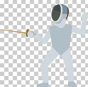 Emojipedia Fencing Sport Sword PNG