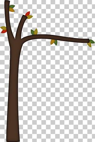 Branch Tree Cartoon PNG