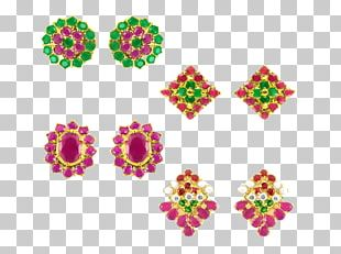 Floral Design Cut Flowers Body Jewellery Pattern PNG