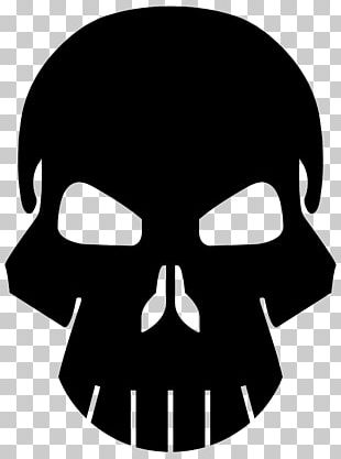 Punisher Human Skull Symbolism Logo Bone PNG
