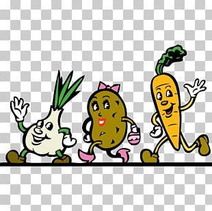 Veggie Burger Vegetable Cartoon PNG