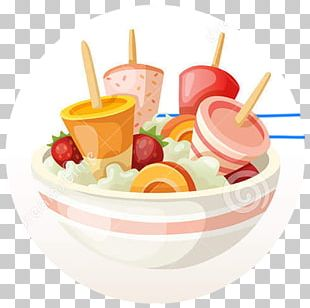 Sundae Frozen Yogurt Fruit Salad Juice Ice Cream PNG