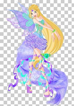 Fairy Bloom Flora Tecna Stella PNG