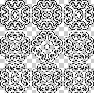 Line Art Drawing Ornament Pattern PNG