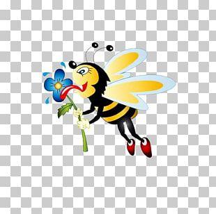 Worker Bee Honey Bee Bumblebee PNG