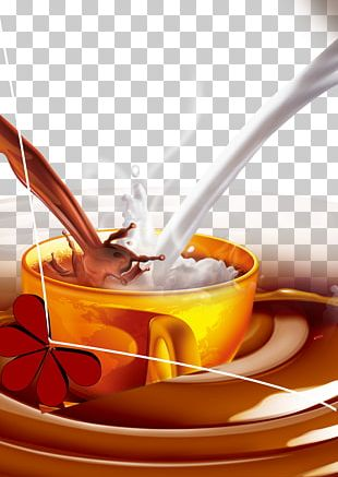 Bubble Tea Coffee Milk Green Tea PNG