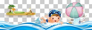 Beach Vacation Graphic Design Illustration PNG