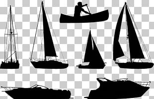 Boat Silhouette Ship PNG