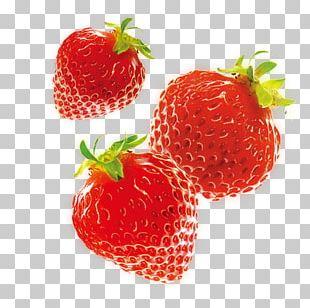 Ice Cream Strawberry Aedmaasikas Food PNG