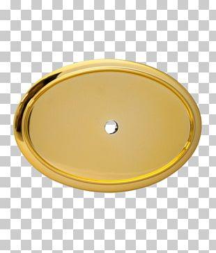 Oval Badge Gold Frames Plastic PNG