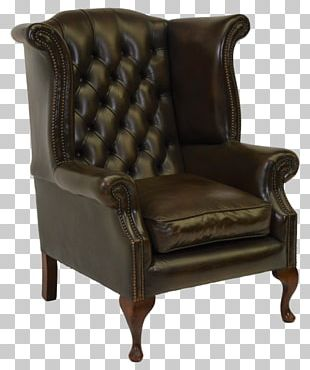 Club Chair Wing Chair Chesterfield Furniture PNG