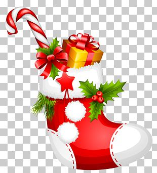 Christmas Stocking Gift PNG