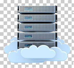 Cloud Computing Computer Servers Cloud Storage Web Hosting Service Data Center PNG
