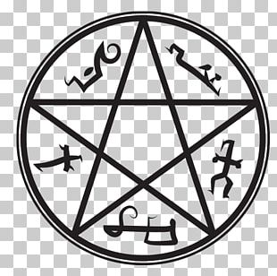 Devil's Trap Demon Symbol Pentagram PNG