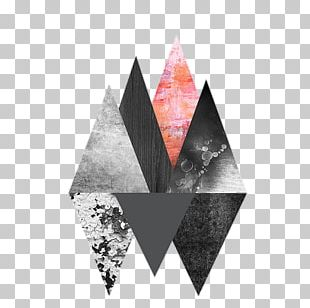 Triangle Geometry Shape Abstract Art PNG