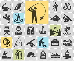 Fishing Rod Symbol Icon PNG