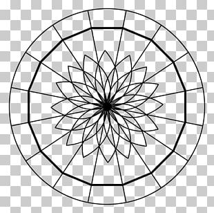 Sacred Geometry Circle Point PNG