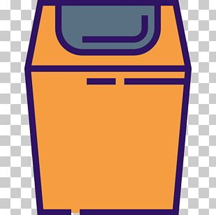 Washing Machine Cartoon Icon PNG