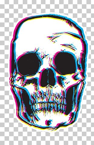 T-shirt Hoodie Sticker Skull Polyester PNG