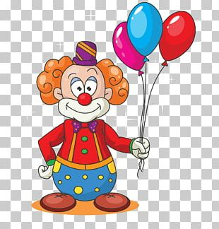 Learn ABCD For Kids Free Clown Cartoon Balloon PNG