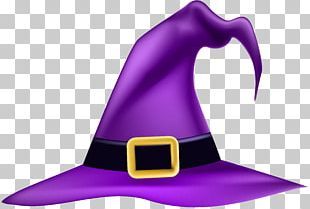 Witch Hat Witchcraft Halloween PNG
