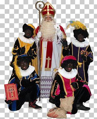 Santa Claus Sinterklaasfeest Zwarte Piet Christmas Ornament PNG