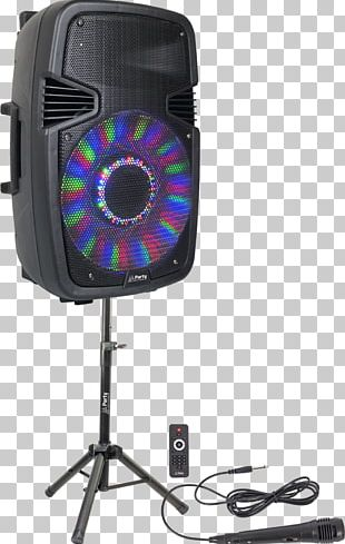 Powered Speakers Loudspeaker Sound Reinforcement System Microphone PNG