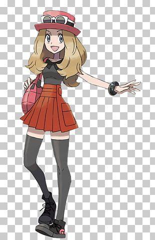 Pokémon X And Y Serena Ash Ketchum Pokémon Trainer PNG