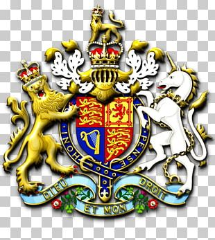 Crest Coronation Of Queen Elizabeth II Royal Coat Of Arms Of The United Kingdom Royal Coat Of Arms Of The United Kingdom PNG