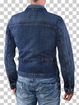 Denim Jeans Cobalt Blue Textile PNG