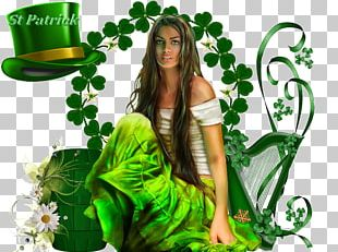 Saint Patrick's Day March 17 Party Irish People PNG